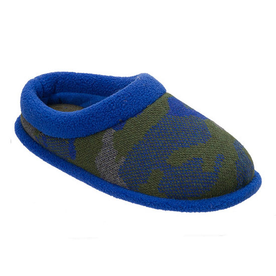Dearfoams Boys Clog Slippers