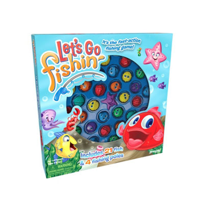 Pressman Toy Let's Go Fishin' Game