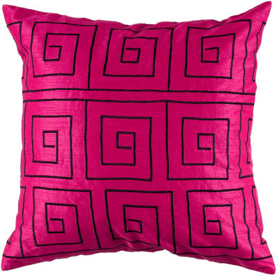 Rizzy Home Ryan Transitional Geometric Decorative Pillow