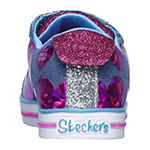 Skechers Sparkle Lite Little Kids Girls Walking Shoes