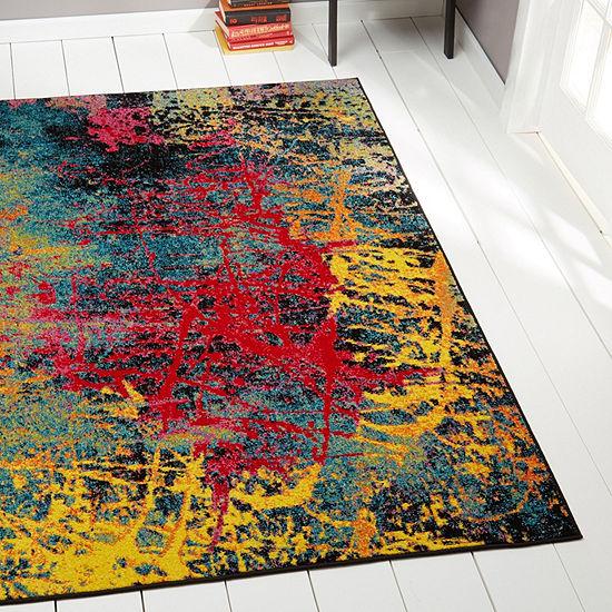 Home Dynamix Splash Tomie Abstract Rectangular Rug