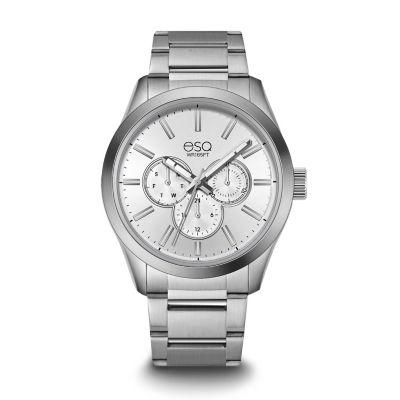 Esq Mens Silver Tone Bracelet Watch-37esq001001a