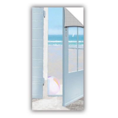 Brushstone Beach Ball Removable Wall Decal