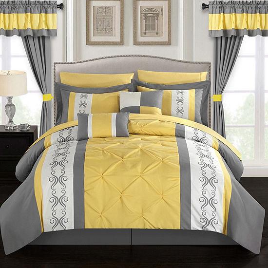 Chic Home Icaria 20 Pc Comforter Set