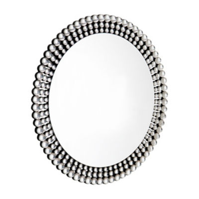 Elegant Border Round Wall Mirror