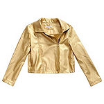 Obsess Girls Lightweight Motorcycle Jacket-Big Kid