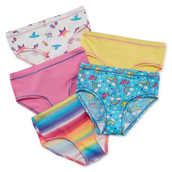 Hanes Little & Big Girls 5 Pack Brief Panty