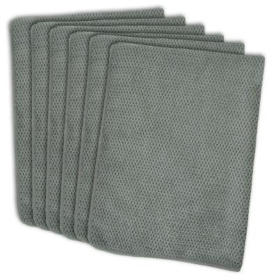 Textured Microfiber Dishtowel Set - Set of 6