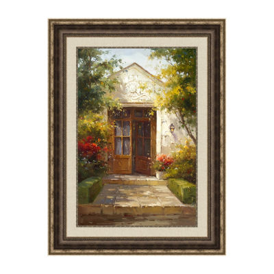 A Welcoming Entrance Framed Print