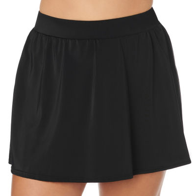 Trimshaper Control Swim Skirt Swimsuit Bottom Plus
