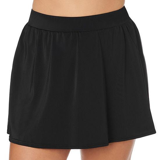 Trimshaper Control Swim Skirt Swimsuit Bottom Plus