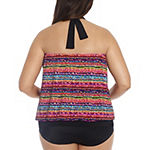 Trimshaper Tankini Swimsuit Top or Swimsuit Bottom-Plus