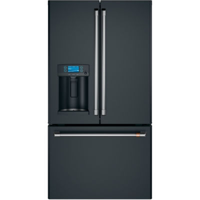 GE Café ENERGY STAR® 22.2 cu. ft. Counter-Depth French-Door Refrigerator with Hot Water Dispenser