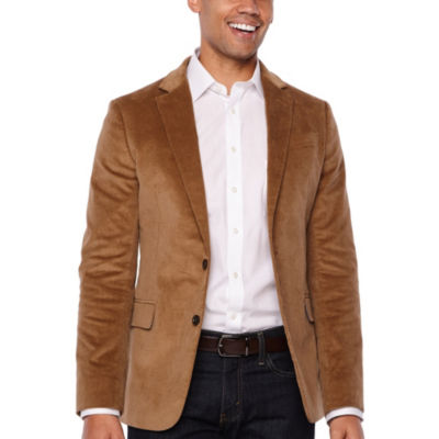 Stafford Slim Fit Half Lined Corduroy Sport Coat