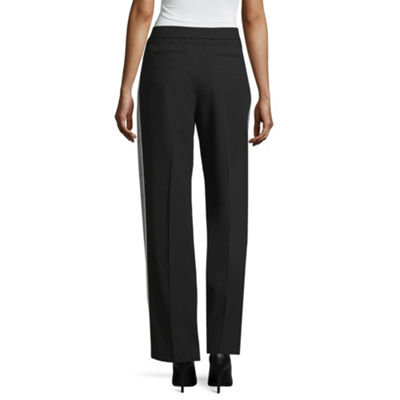 Worthington Womens Straight Pull-On Pants