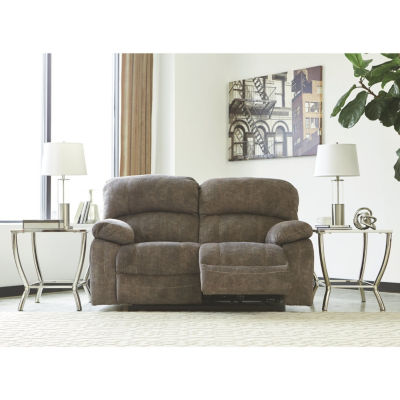 Signature Design By Ashley® Cannelton Power Reclining Loveseat With Console
