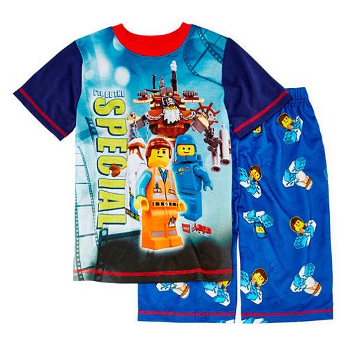 Lego Movie 2-pc. Pajama Short Set - Boys