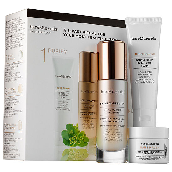 bareMinerals PURIFY. EMPOWER. MOISTURIZE. Normal to Dry Skin