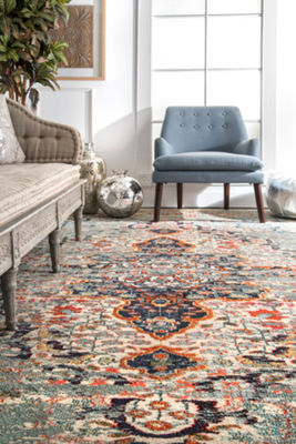 nuLoom Distressed Persian Sarita Rug