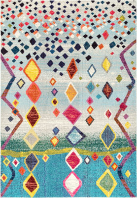 nuLoom Tinisha Moroccan Diamond Area Rug