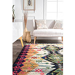 nuLoom Brittany Hill Rectangular Rug