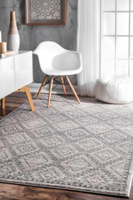 nuLoom Vintage Tiles Delmy Rectangular Rug