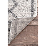 nuLoom Tribal Diamond Medallion Rectangular Rug
