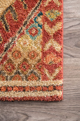 nuLoom Fraley Trellis Shaggy Rectangular Rug
