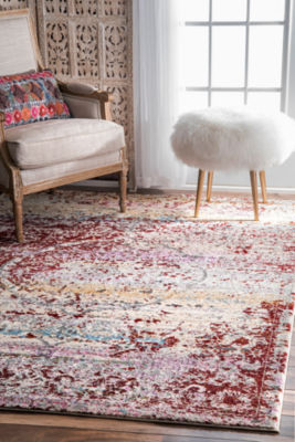 nuLoom Vintage Medallion Denice Rectangular Rug