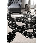 nuLoom Thomas Paul Power Loomed Serpent Rectangular Rug