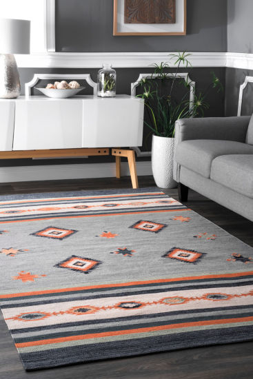 nuLoom Kirchner Tribal Rectangular Rug