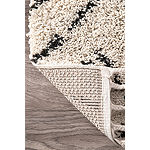 nuLoom Nieves Moroccan Diamond Tassel Rectangular Rug