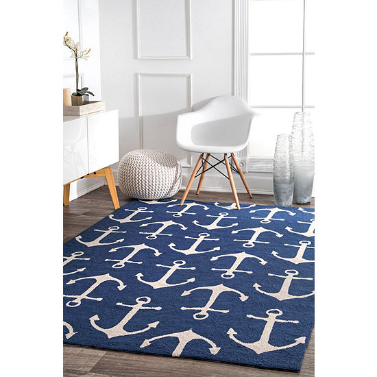 nuLoom Hand Hooked Despina Indoor/Outdoor Rug