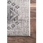nuLoom Vintage Diamonds Caudle Rectangular Rug