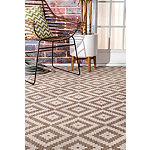 nuLoom Marybelle Tribal Diamond Trellis Rectangular Rug