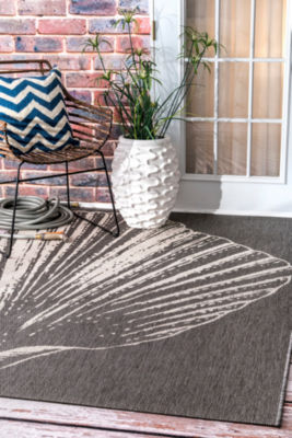 Thomas Paul Fan Seashell Rectangular Rug