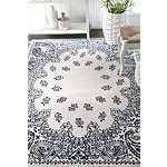 nuLoom Thomas Paul Power Loomed Oriental Rectangular Rug