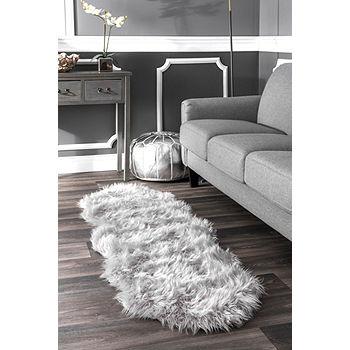 Nuloom Soft Faux Sheepskin Rug Color