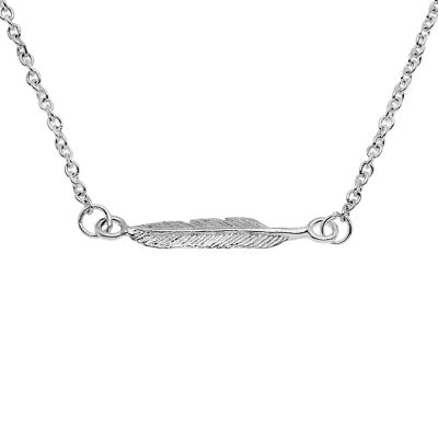 Itsy Bitsy 16 Inch Semisolid Cable Chain Necklace