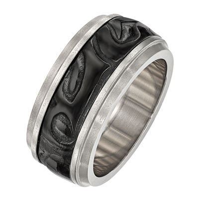 Edward Mirell Mens 11M Titanium Wedding Band
