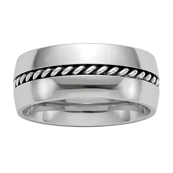 Edward Mirell 9M Cobalt Wedding Band