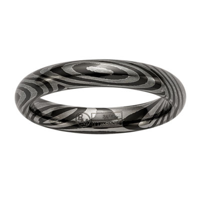Edward Mirell Mens 4mm Titanium Wedding Band