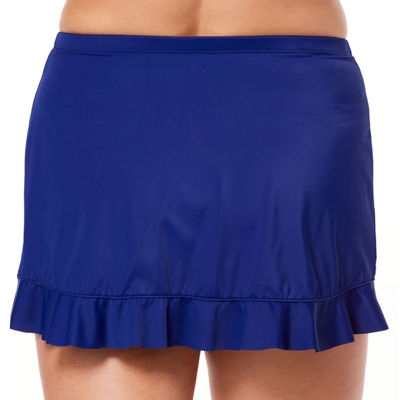 St. John's Bay Ruffle Hem Skirt - Plus