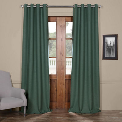 Exclusive Fabrics & Furnishing Bellino Grommet-Top Blackout Curtain Panel