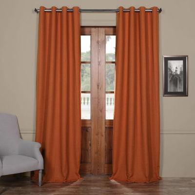 Exclusive Fabrics & Furnishing Bellino Grommet-Top Blackout Curtain Panel