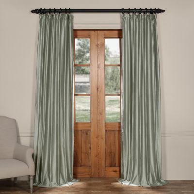 Exclusive Fabrics & Furnishing Cotton Silk CurtainPanel