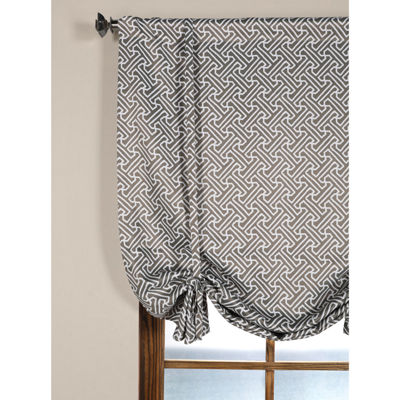 Exclusive Fabrics & Furnishing Cobblestone Blackout Tie-Up Shade