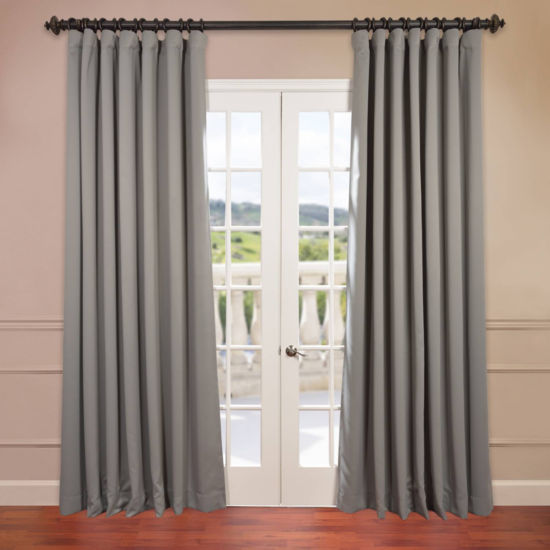 Exclusive Fabrics & Furnishing Extra Wide BlackoutCurtain Panel