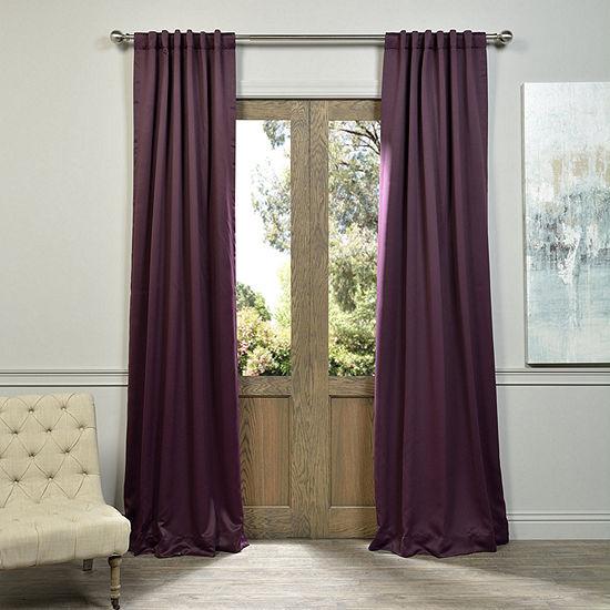 Exclusive Fabrics & Furnishing Blackout Curtain Panel