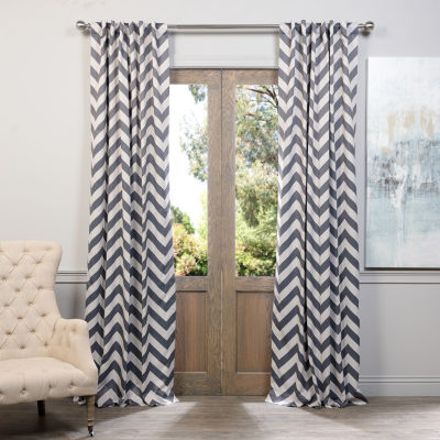 Exclusive Fabrics & Furnishing Fez Blackout Curtain Panel
